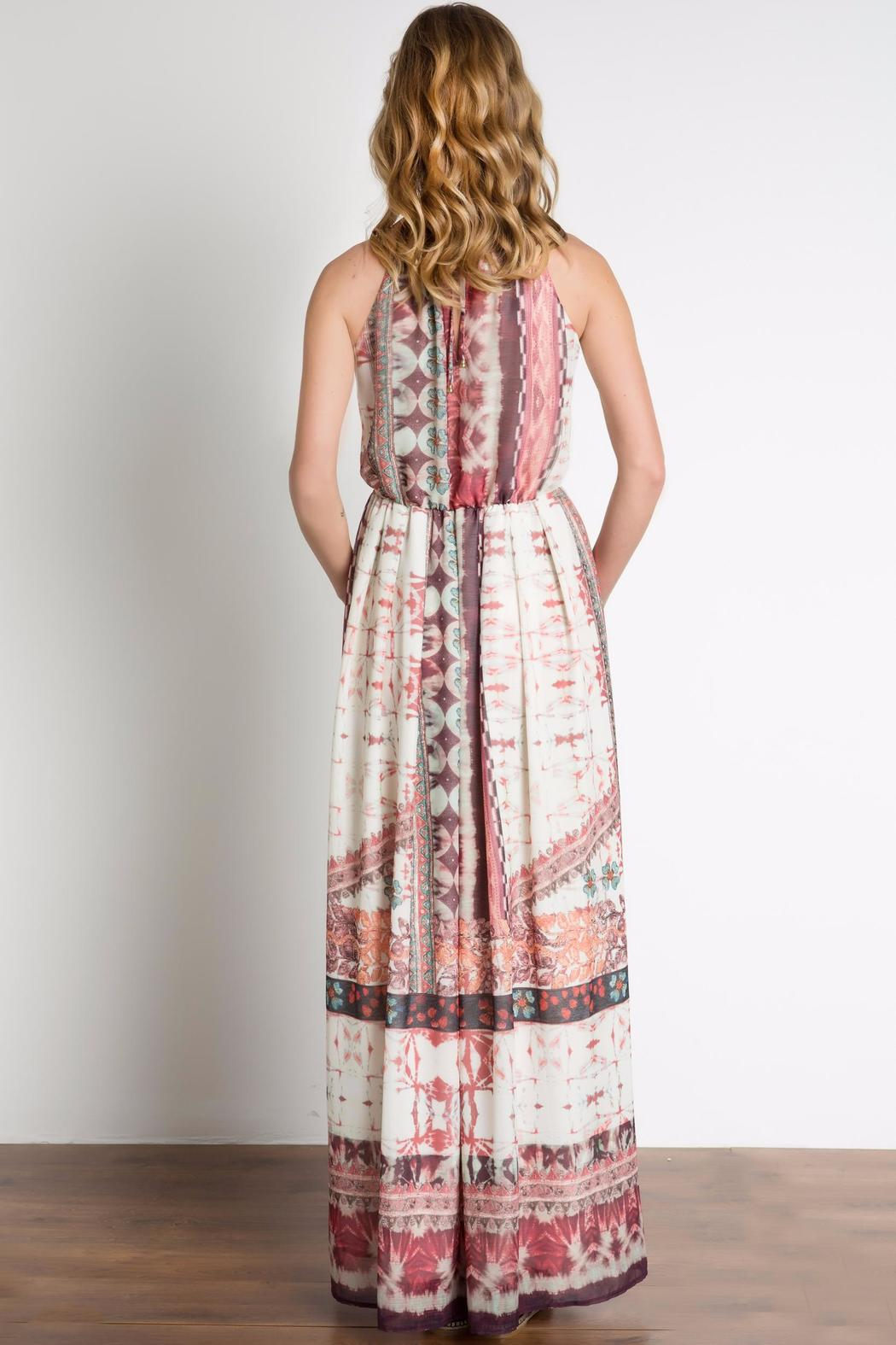 Urban Touch Ethnicprint Maxi Dress - Side Cropped Image