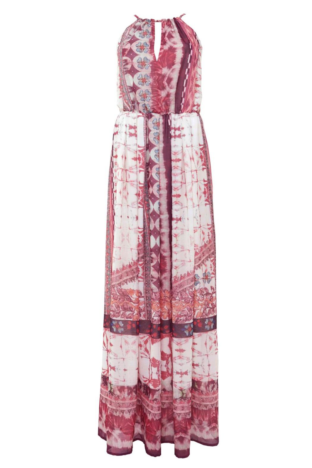 Urban Touch Ethnicprint Maxi Dress - Back Cropped Image