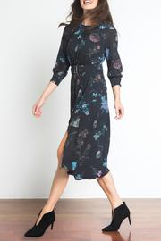 Urban Touch Floral Midi Dress - Front full body
