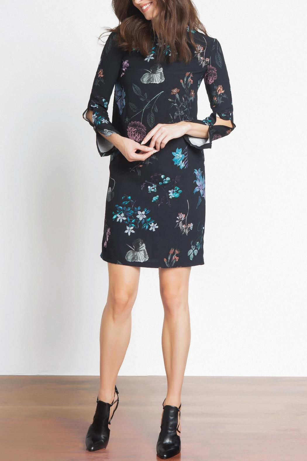 Urban Touch Floral Shift Dress - Main Image