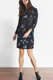 Urban Touch Floral Shift Dress - Front full body