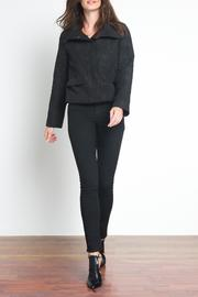 Urban Touch High Neck Bomber - Front full body
