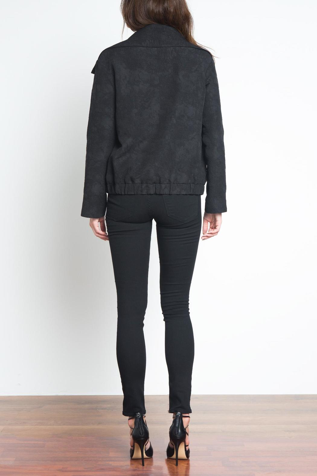 Urban Touch High Neck Bomber - Side Cropped Image