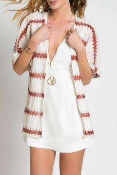 Urban Touch Knitted Printed Kimono - Product List Image