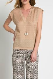Urban Touch Knitted Top - Product Mini Image