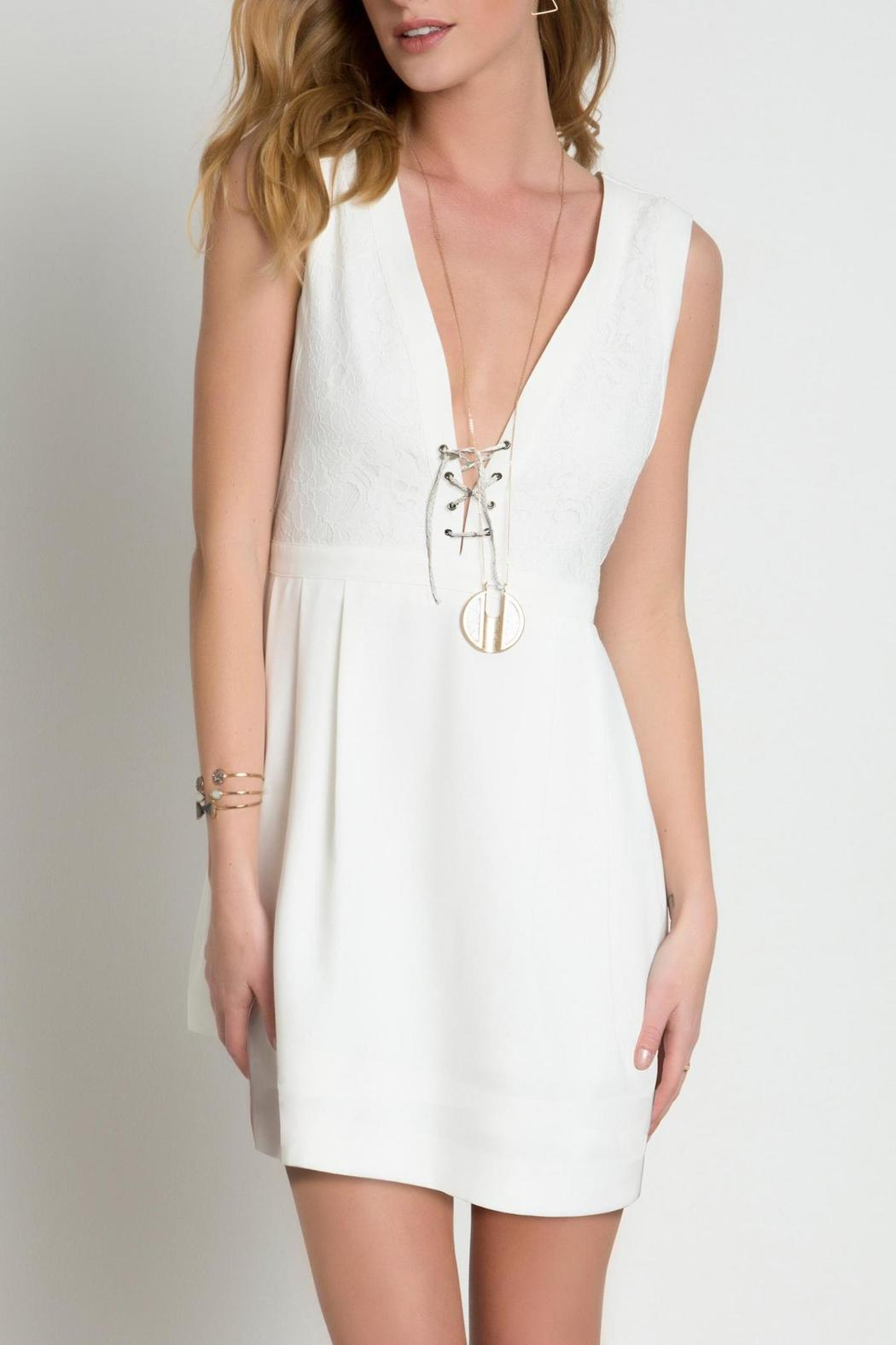Urban Touch Lace Body Dress - Main Image