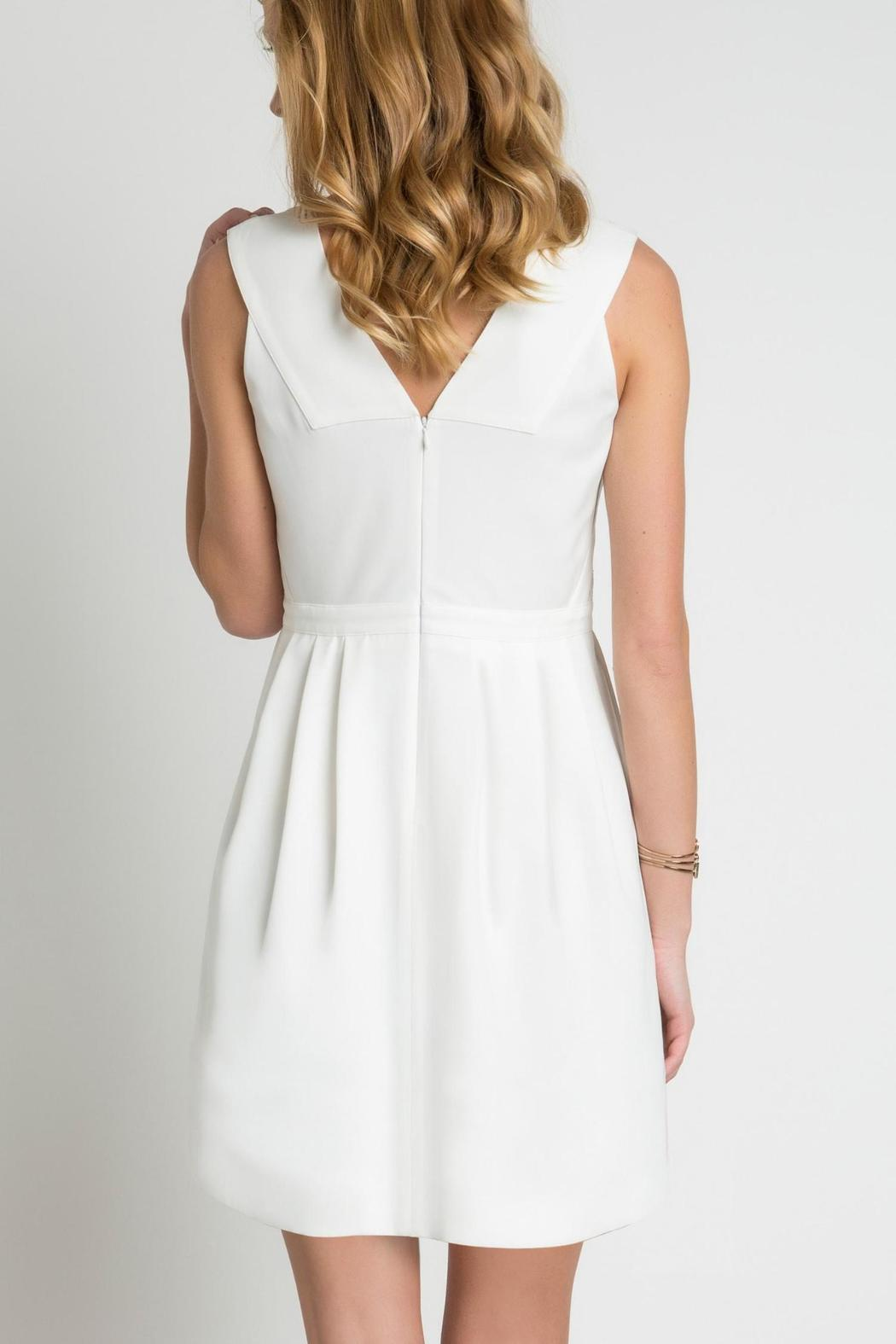 Urban Touch Lace Body Dress - Side Cropped Image