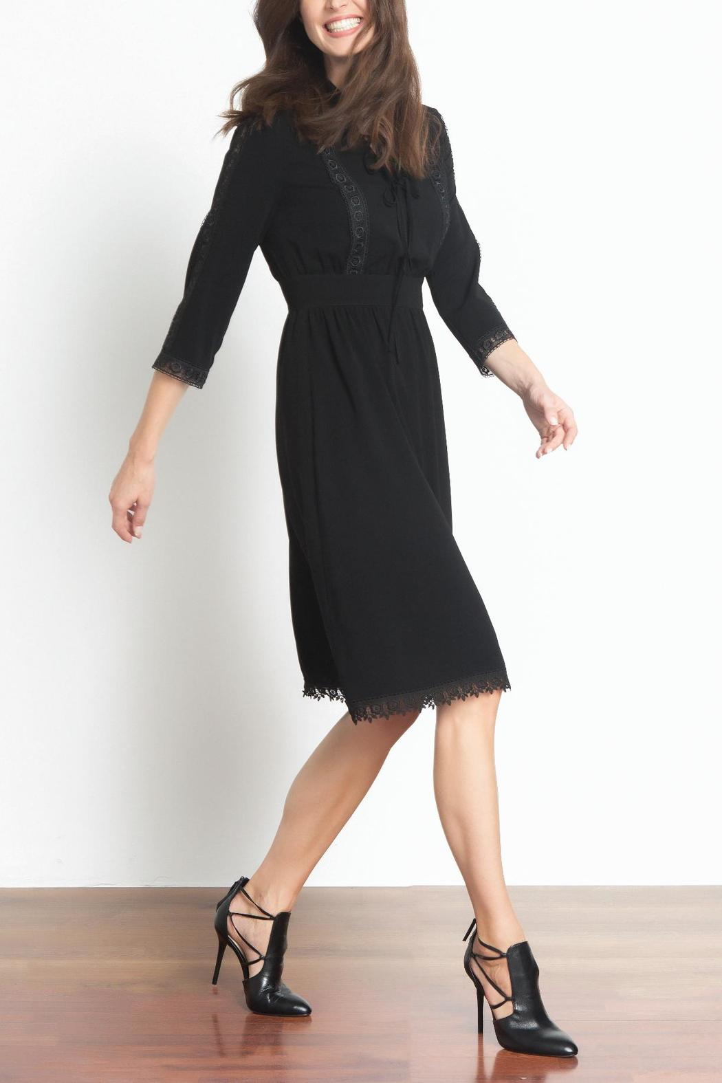 Urban Touch Lace Detailed Dress - Front Full Image