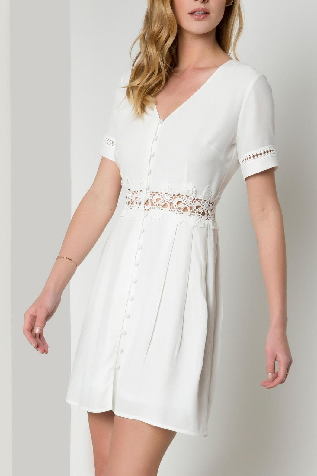 Urban Touch Lace Detailed Dress - Main Image