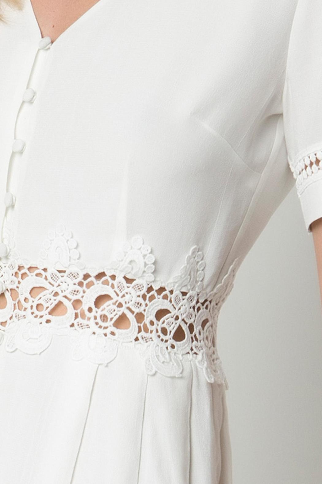 Urban Touch Lace Detailed Dress - Back Cropped Image