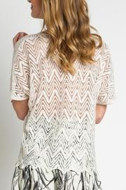 Urban Touch Lace Look Top - Side cropped
