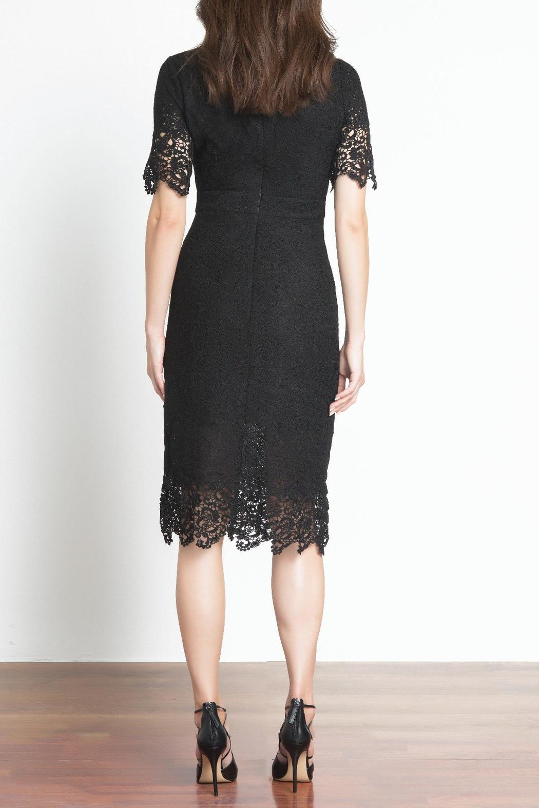Urban Touch Lace Midi Dress - Side Cropped Image
