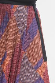 Urban Touch Pleated Midi Skirt - Back cropped
