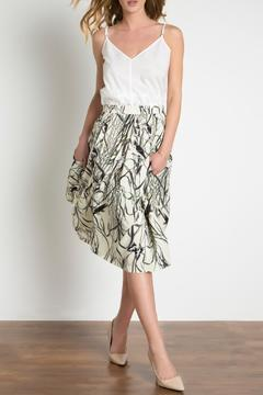 Urban Touch Pleated Midi Skirt - Product List Image