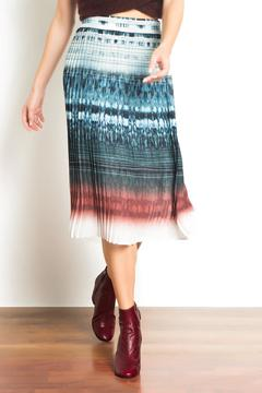 Shoptiques Product: Pleated Midi Skirt