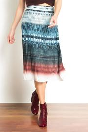 Urban Touch Pleated Midi Skirt - Product Mini Image