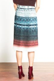 Urban Touch Pleated Midi Skirt - Side cropped