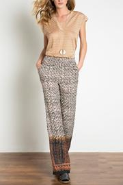 Urban Touch Printed Trouser - Product Mini Image