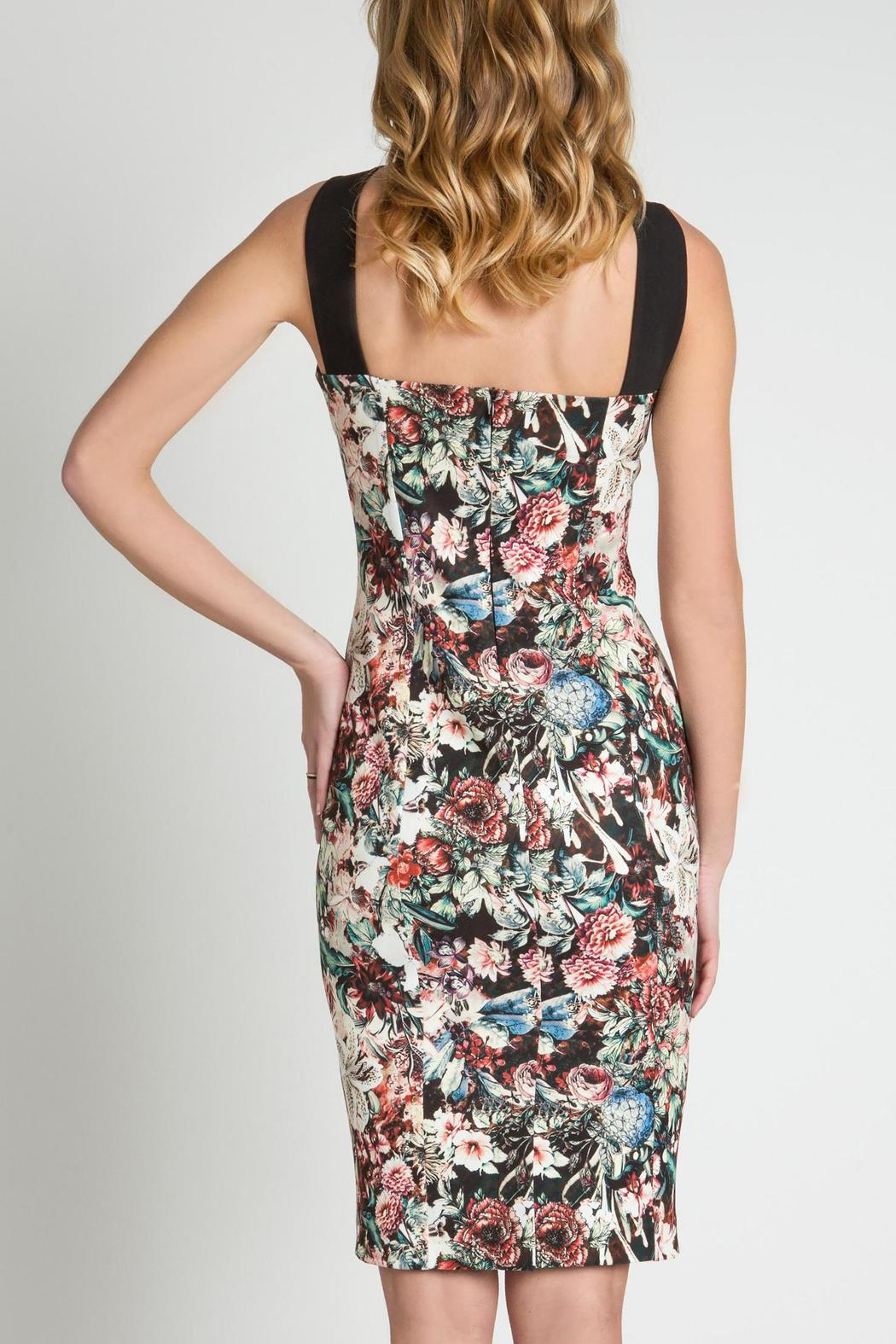 Urban Touch Strapped Neck Dress - Side Cropped Image