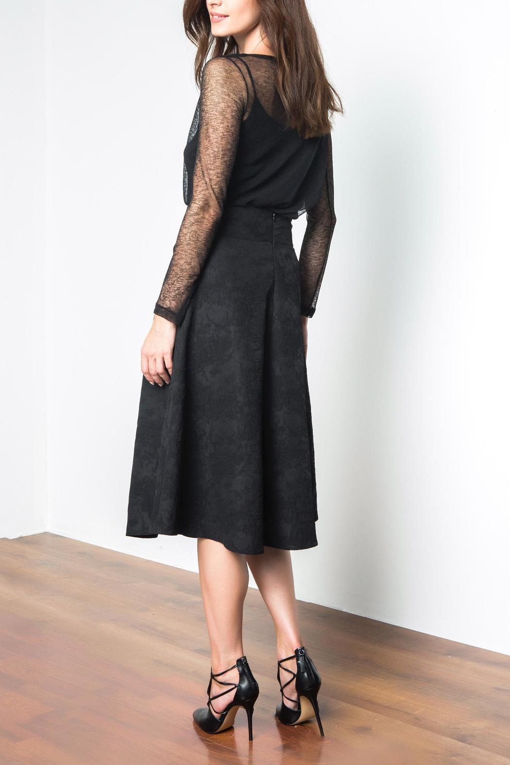 Urban Touch Tie Waist Skirt - Side Cropped Image