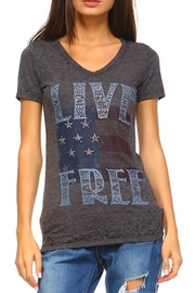 Urban X Live Free Top - Front cropped