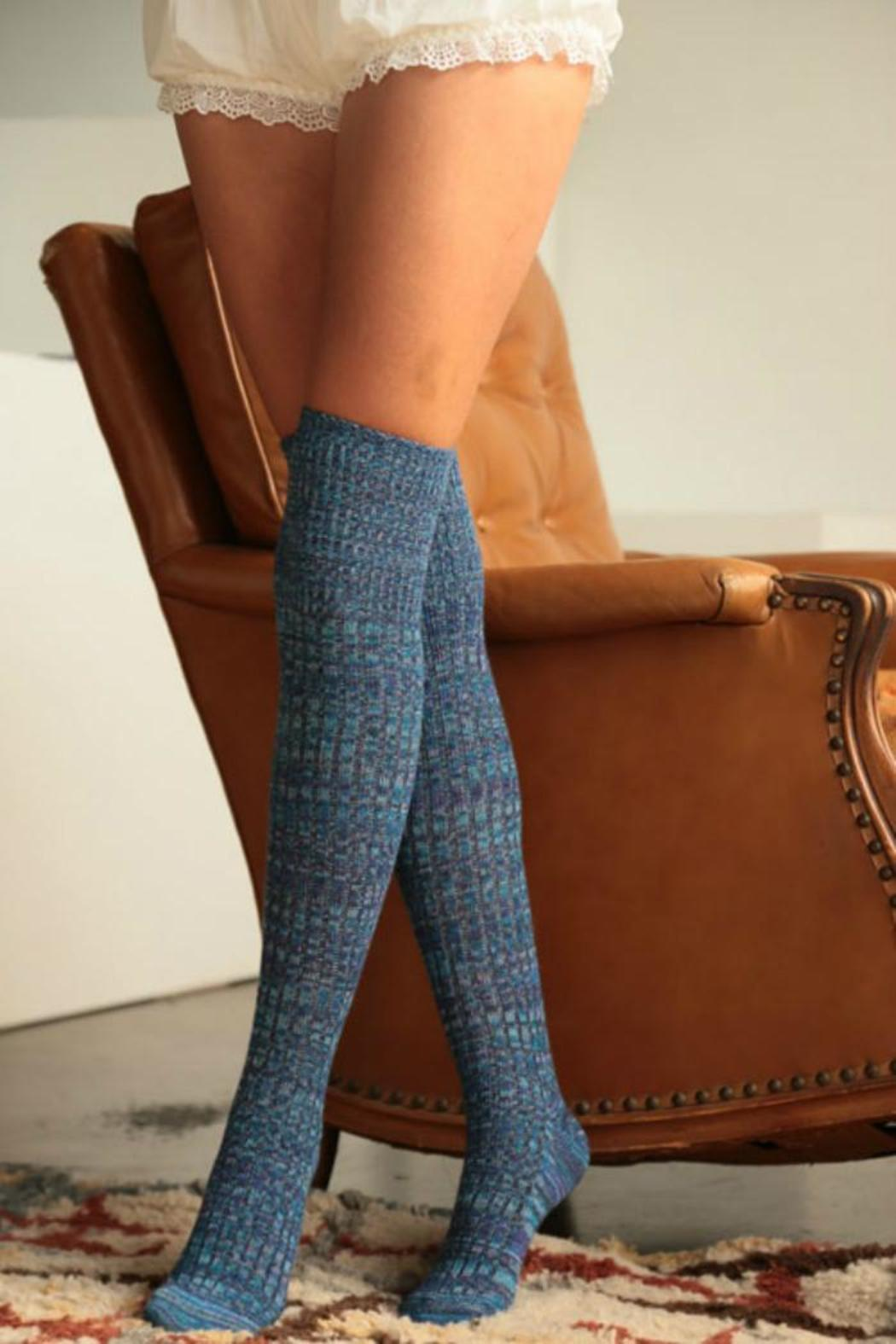 Urbanista Color-Mix Boot Socks - Side Cropped Image