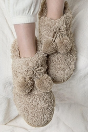 Urbanista Fuzzy Slipper Booties - Front cropped