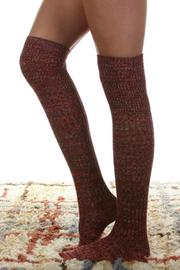 Urbanista Heathered Knee Sock - Product Mini Image