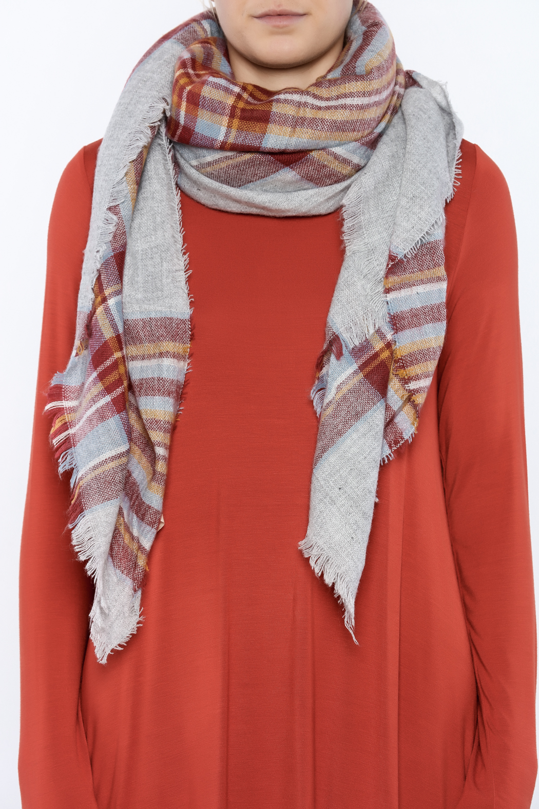 Urbanista The Laura Blanket Scarf - Back Cropped Image