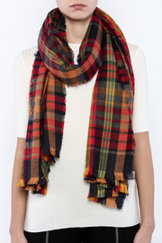 Urbanista The Laura Blanket Scarf - Back cropped