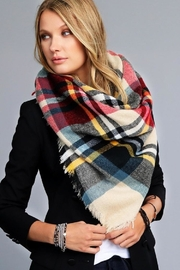 Urbanista Vibrant Blanket Scarf - Front cropped