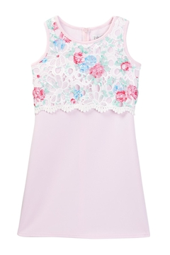 Us Angels Lace Print Dress - Product List Image