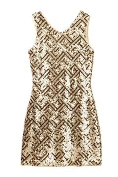 Us Angels Sleeveless Sequin Dress - Product List Image