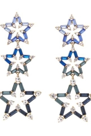 US Jewelry House Blue-Star Drop Earrings - Product Mini Image