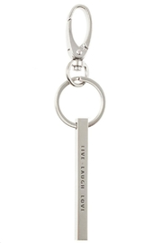 US Jewelry House Live-Love-Laugh Keychain - Front cropped