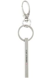 US Jewelry House Stay Strong Keychain - Front cropped