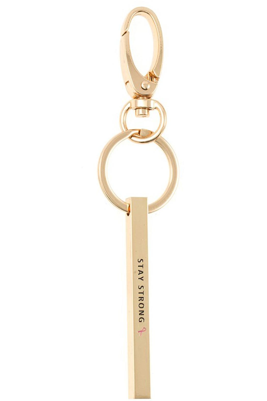 US Jewelry House Stay Strong Keychain - Main Image