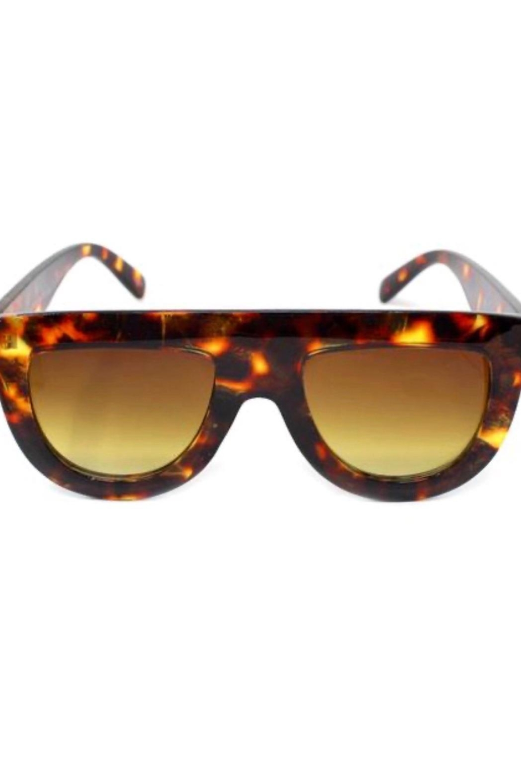 US Jewelry House Tortoiseshell Sunglasses - Main Image