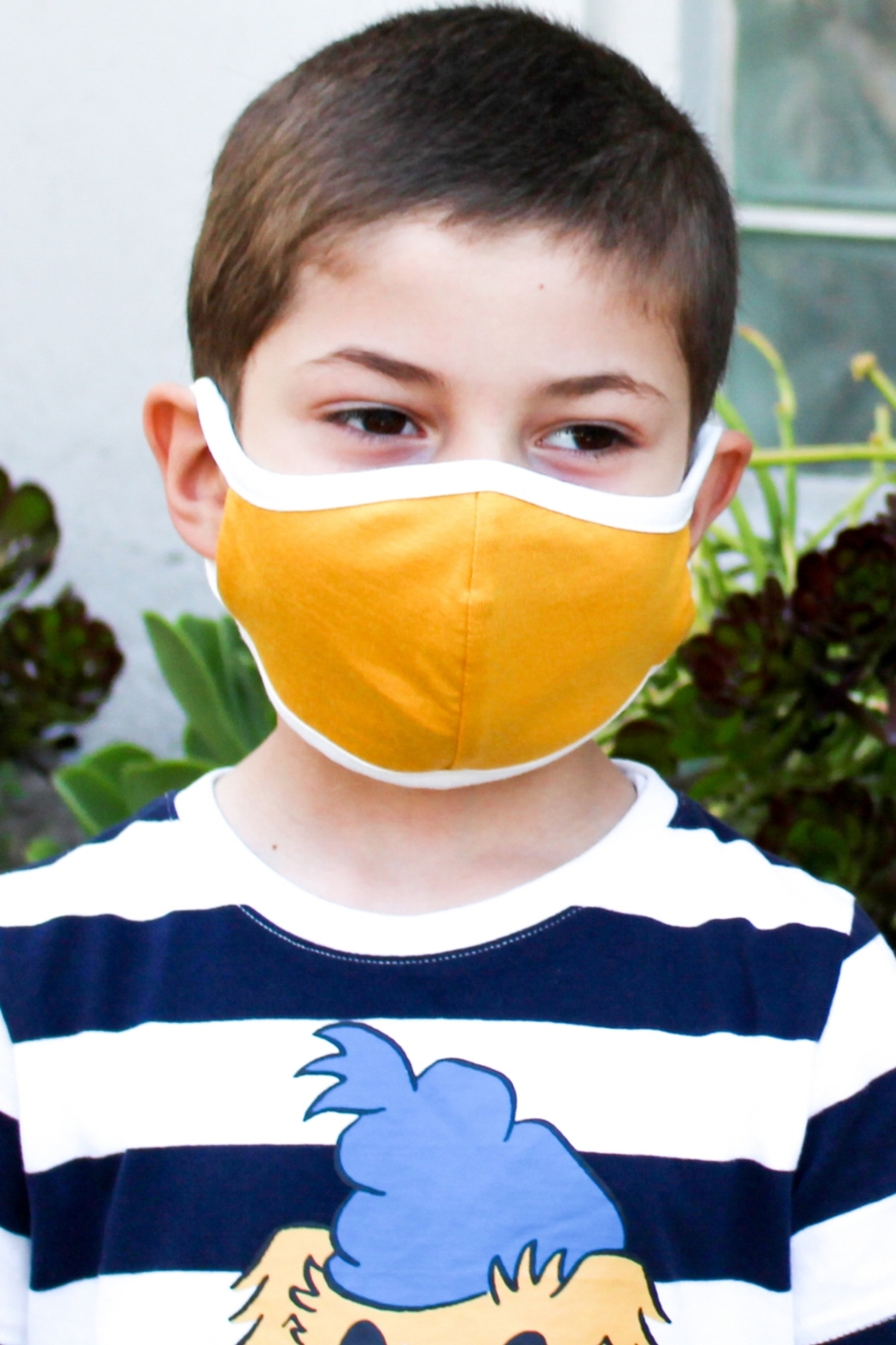 Lyn-Maree's  USA, Children's Washable Mask - Front Cropped Image