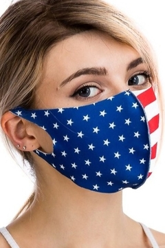 Cap Zone USA FLAG FACE MASK - Alternate List Image
