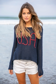 Wooden Ships Usa Sweater - Back cropped