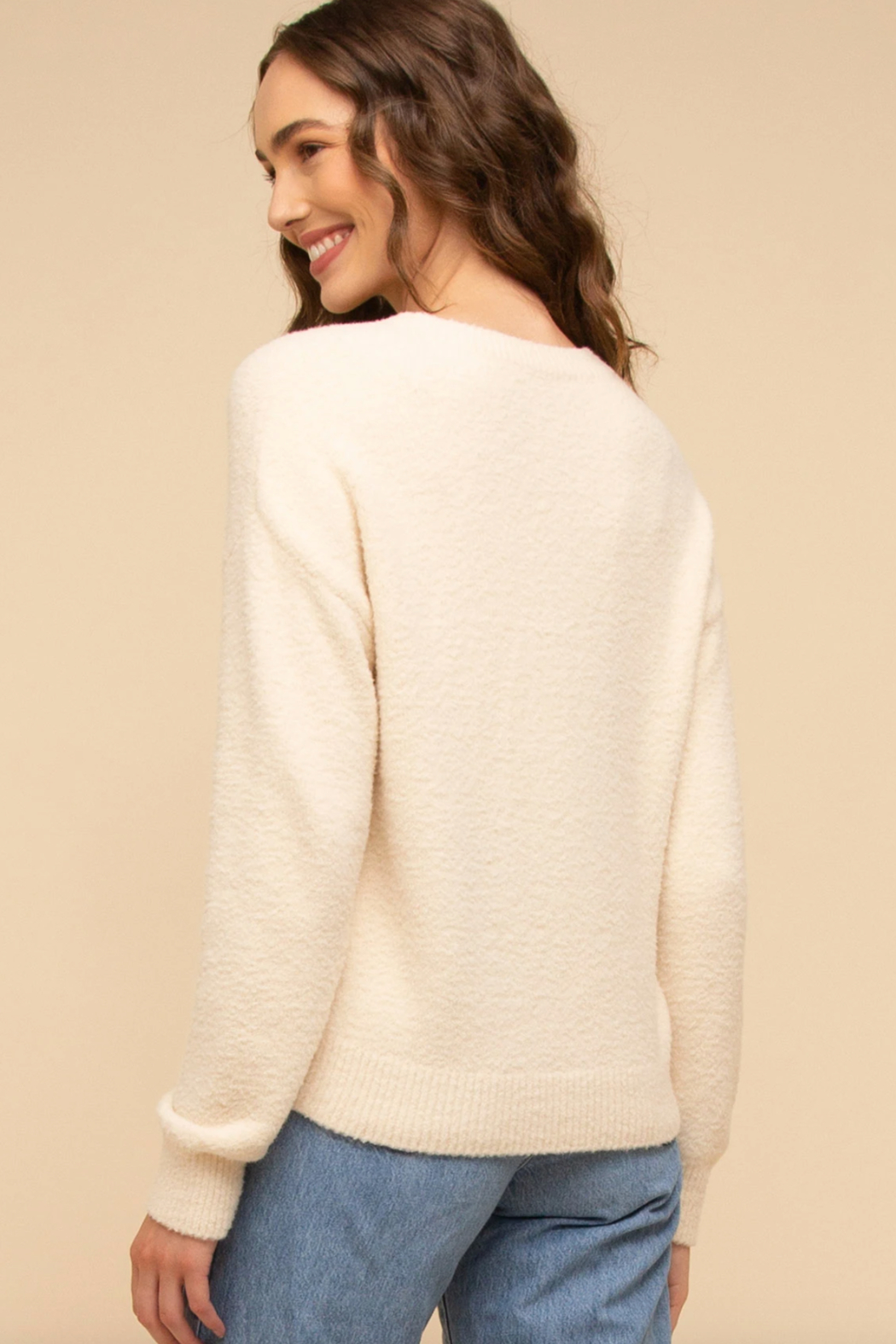 Thread & Supply USA  Sweater Top - Side Cropped Image