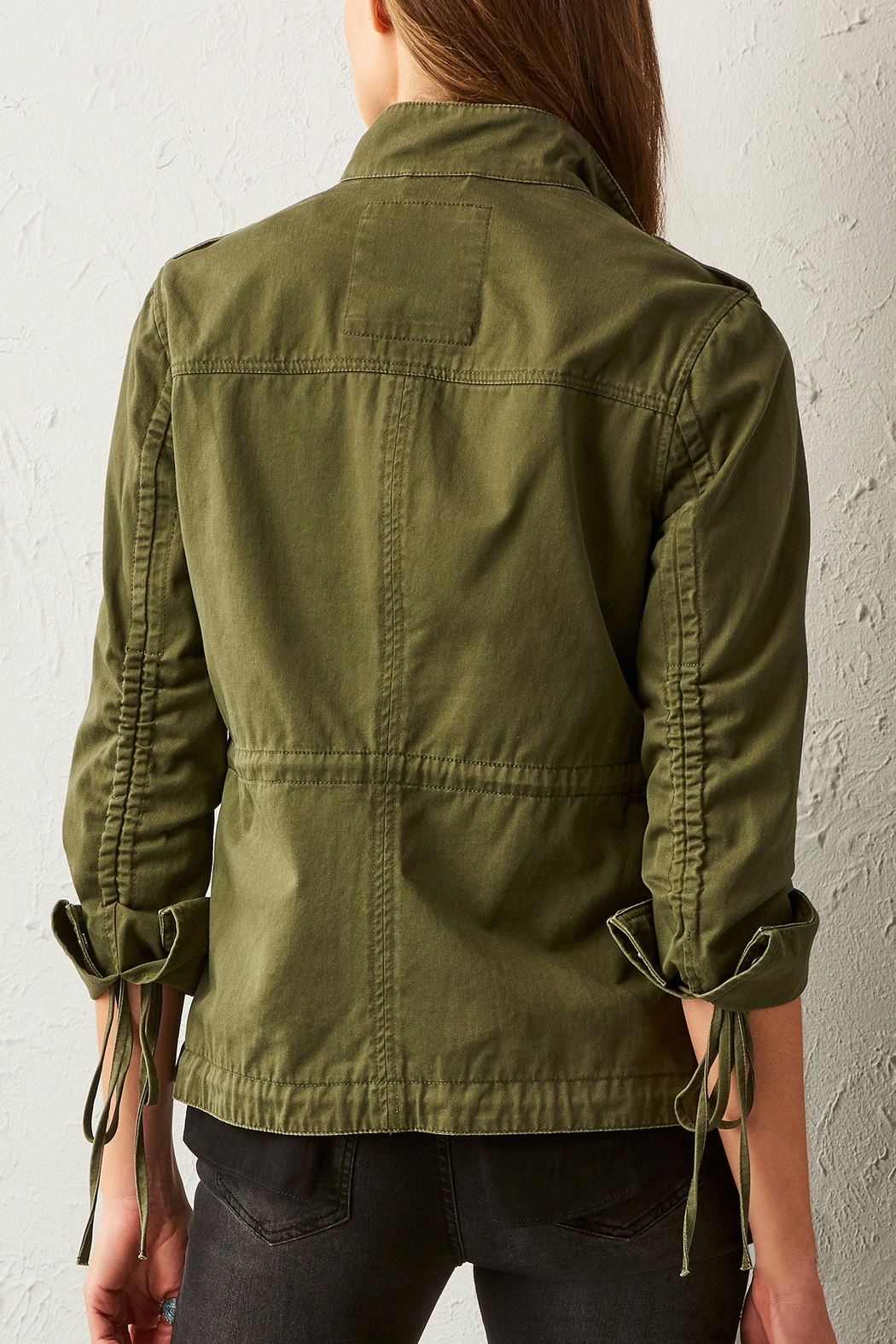 Charlie Paige Utilitarian Jacket - Front Full Image
