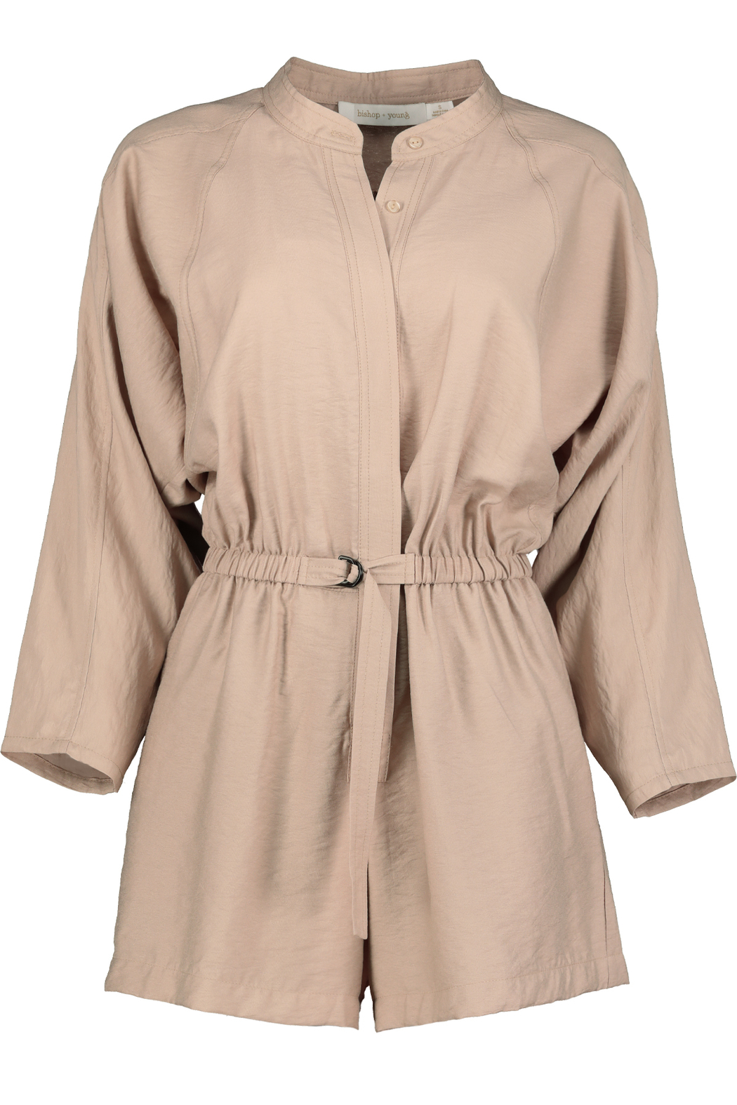 Bishop + Young Utility Belted Romper - Main Image