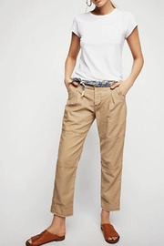 Free People Utility Boyfriend Pant - Front cropped