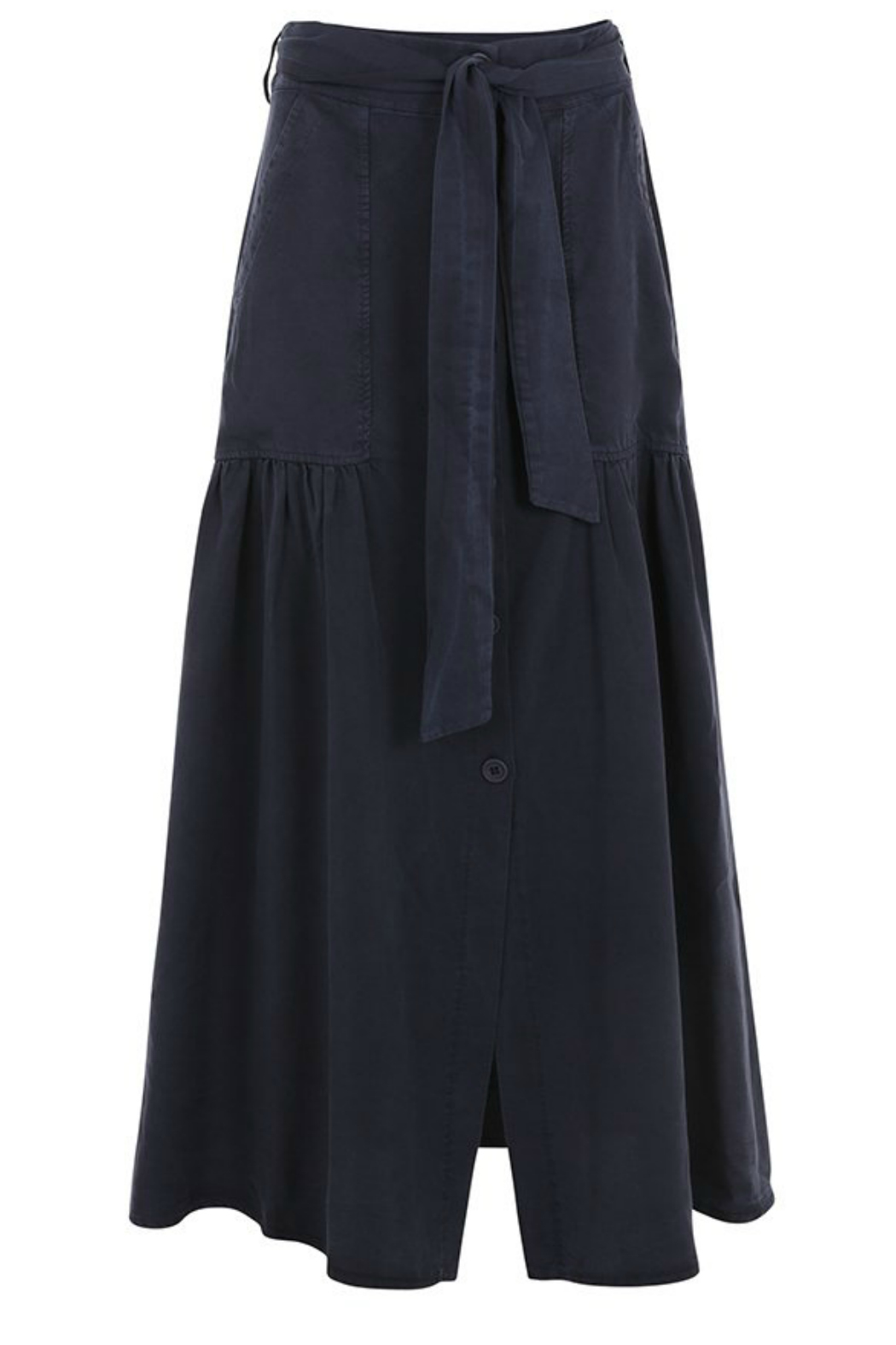 SUZY D Utility Button  Maxi Skirt - Main Image