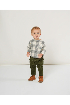 Rylee and Cru Utility Harem Pant - Forest - Product List Image