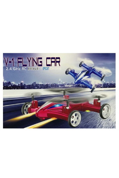 Leading Edge Novelty V-1 Flying Car 2.4 GHz RC Drive-Fly Drone - Alternate List Image