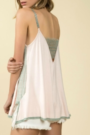 POL V-Adjustable Tank Top - Front full body