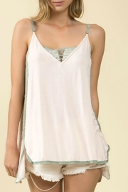 POL V-Adjustable Tank Top - Front cropped